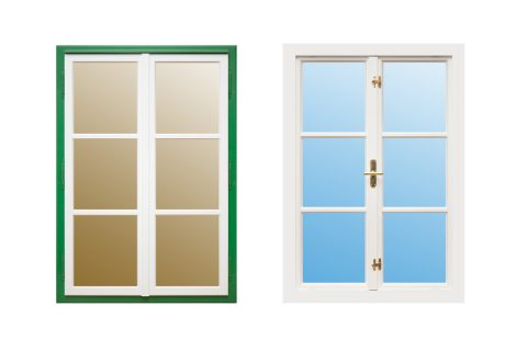 Aldura Pfostenfenster