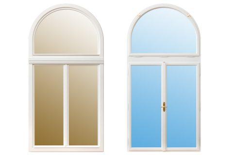 Aldura Rahmenpfostenfenster
