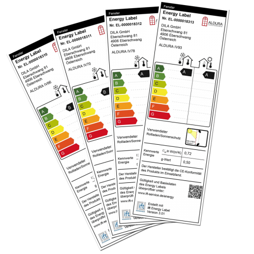 Aldura Energy Label
