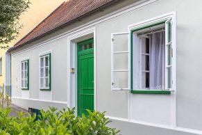 ALDURA Pfostenfenster | Außenfenstertausch und Haustürverkleidung mit Alu | Niederösterreich